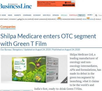 Coverage Update_Shilpa Medicare_24th August 2020